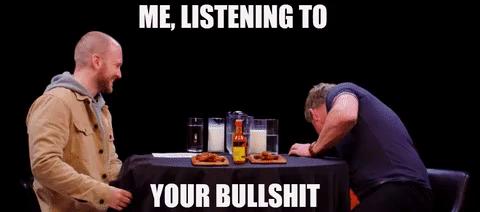 Gordon Ramsey Bullshit GIF - GordonRamsey Bullshit Listening - Discover &  Share GIFs