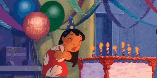 Hbd Happy Birthday Gif Hbd Happybirthday Liloandstitch Discover