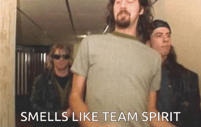 Smells Like Team Spirit GIFs | Tenor