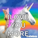 Cat Unicorn GIF - Cat Unicorn Rainbow GIFs