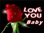Love You Red Rose GIF - LoveYou RedRose LoveYouBaby GIFs