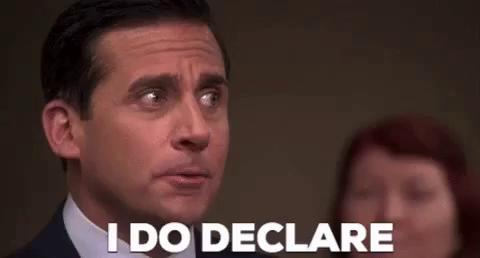 I Do Declare GIFs | Tenor