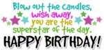 Happy Birthday Blow Out The Candles GIF - HappyBirthday BlowOutTheCandles SuperstarOfTheDay GIFs