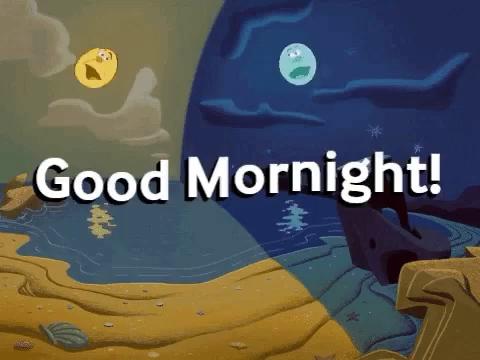 Good Mornight Sun GIF - GoodMornight Sun Moon - Discover & Share GIFs