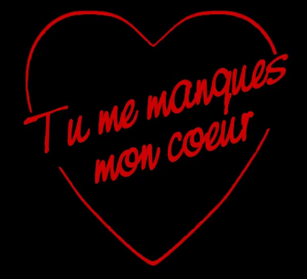 Tu Me Manques Gif Tumemanques Manquer Manque Discover Share Gifs