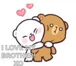 Milk And Mocha Hugs GIF - MilkAndMocha Hugs BearCouple GIFs