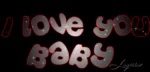 ILove You Baby Red GIF - ILoveYouBaby Red Blinking GIFs