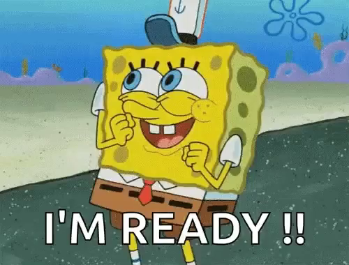 Spongebob Im Ready Gifs Tenor