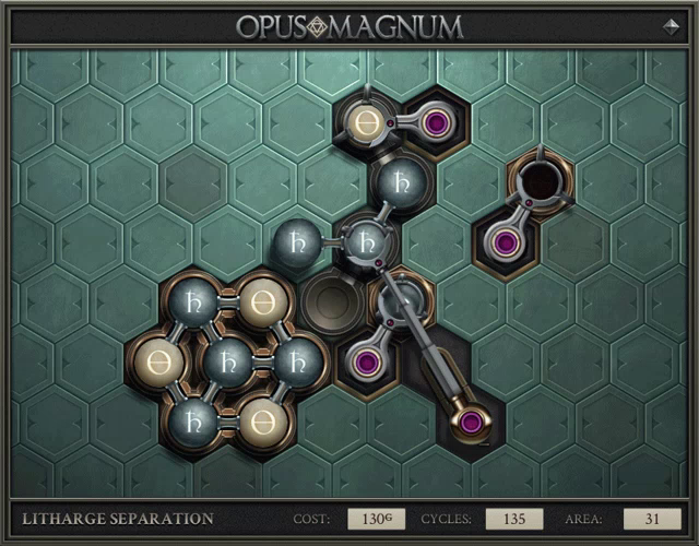 Opus Magnum Puzzle Gif Opusmagnum Puzzle Programming Discover Share Gifs