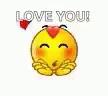 Love You Lots Emoji GIF - LoveYouLots Emoji BlowKiss GIFs