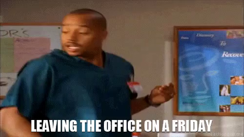 Leaving Work On Friday Meme Funny : Leaving work gifs tenor