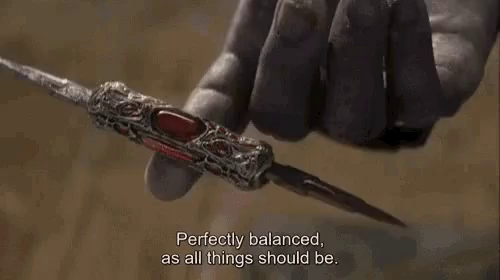 Thanos Perfectly Balanced GIF - Thanos PerfectlyBalanced MiniDagger -  Discover & Share GIFs