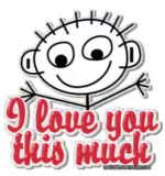 Love You This Much GIF - LoveYouThisMuch GIFs