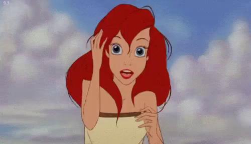 Little Mermaid Hair Gifs Tenor