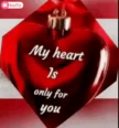 My Heart Is Only For You Love GIF - MyHeartIsOnlyForYou Love Gif GIFs