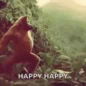 Monkey Ape GIF - Monkey Ape Dance GIFs