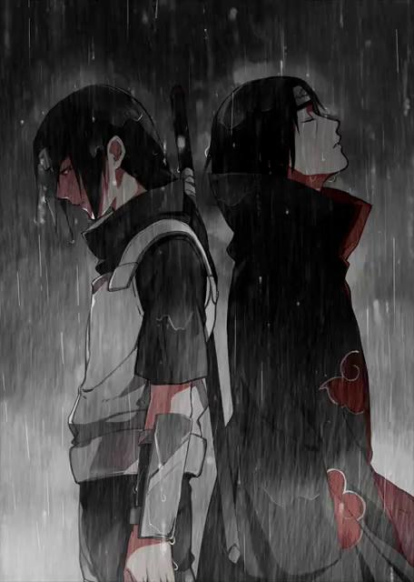 Naruto Rain Gif Naruto Rain Itachiuchiha Descubre Comparte Gifs