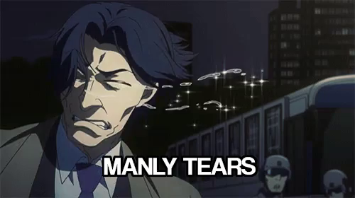 Manly Tears GIFs