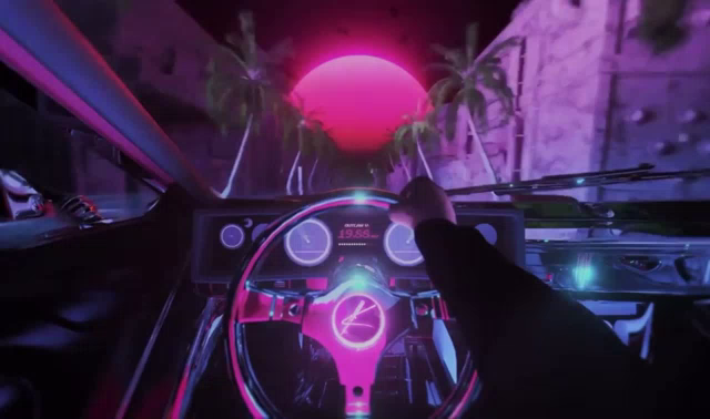 Outrun Gaming Gif Outrun Gaming Michaelknife Discover Share Gifs