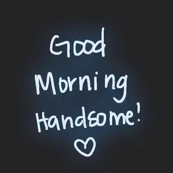 Good Morning Handsome Gifs Tenor