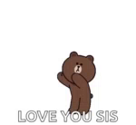 Cony Brown Cony And Brown GIF - ConyBrown ConyAndBrown Love GIFs