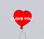 Downsign ILove You GIF - Downsign ILoveYou Balloons GIFs