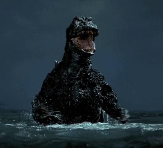 Happy Birthday Godzilla Gifs Tenor