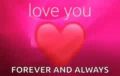 Love You So Much Forever And Always GIF - LoveYouSoMuch ForeverAndAlways Heart GIFs