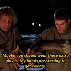 Dumb And Dumber Gloves Scene GIFs   Tenor