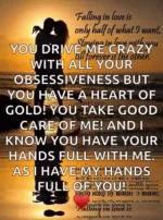 Love You Drive Me Crazy With All Your Obsessiveness But You Have AHeart GIF - Love YouDriveMeCrazyWithAllYourObsessivenessButYouHaveAHeart GIFs