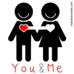 You And Me Love GIF - YouAndMe Love Heart GIFs