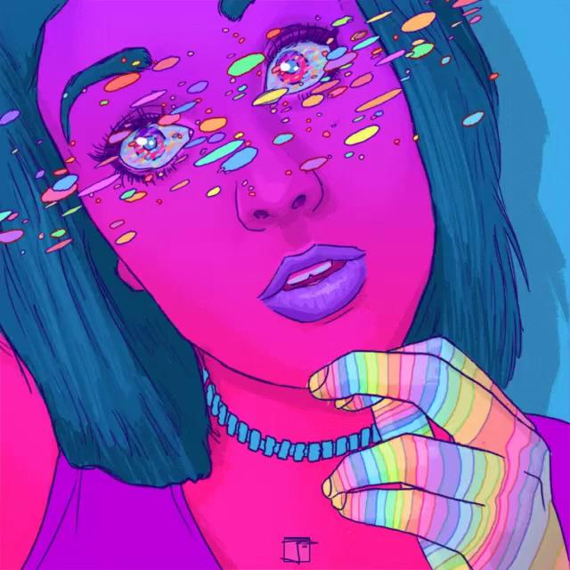 Colorful girl gifs tenor girl colorful gif girl colorful tumblr gifs voltagebd Choice Image