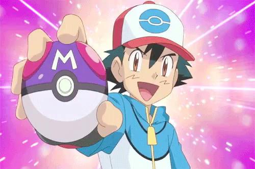 Pokemon Ash GIF