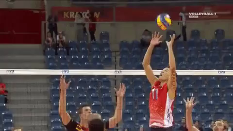Volleyball Championships Spike Gif Spike Volleyball