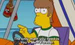 The Simpson You And Me Forever GIF - TheSimpson YouAndMeForever GIFs