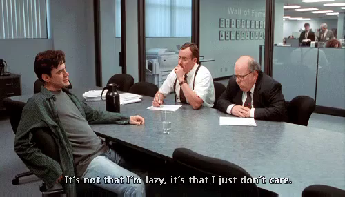 Beau Office Space GIF   Lazy DontCare OfficeSpace GIFs