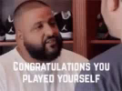 Idiot Congratulations You Played Your Self GIF - Idiot CongratulationsYouPlayedYourSelf GIFs