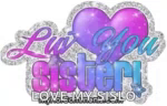 Love You Sister Luv You GIF - LoveYouSister LuvYou GIFs