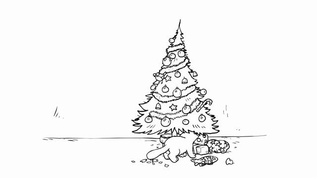Christmas Tree Curiosity Gif Simonscat Audio Youtube Discover