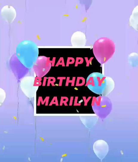 Happy Birthday Marilyn Images Gifs Tenor