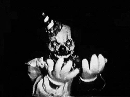 scary clown gifs tenor scaryclown nightmare gif scaryclown scary clown gifs