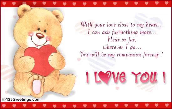 Love bear gif love bear loveyou discover share gifs voltagebd Images