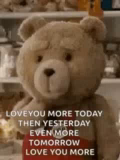 Love You More Blowing Kisses GIF - LoveYouMore BlowingKisses Ted GIFs