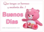 Buenos Dias Good Day GIF - BuenosDias GoodDay TeddyBear GIFs