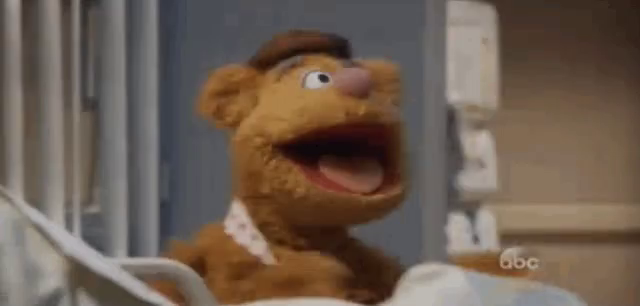 Walter Muppet Screaming