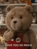 Love You So Much Ted GIF - LoveYouSoMuch Ted Kiss GIFs