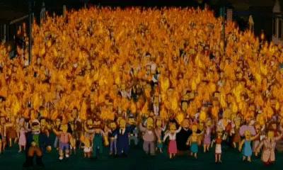 Simpsons Angry Mob Gifs Tenor