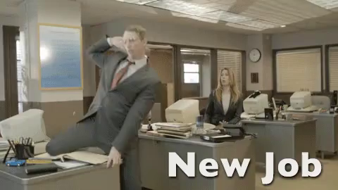 New Job Gif Newjob Dance Excited Discover Share Gifs