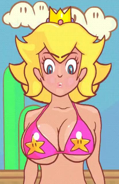 Sexy Princess Peach Gifs Tenor
