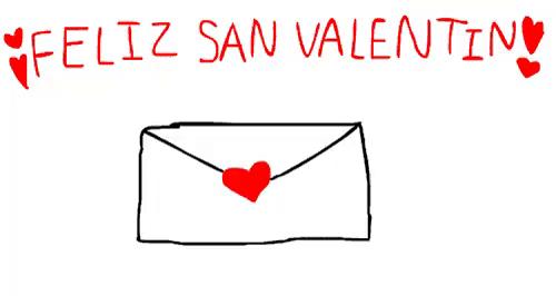 Feliz San Valentin GIF   Valentines Letter TeddyBear   Discover U0026 Share GIFs